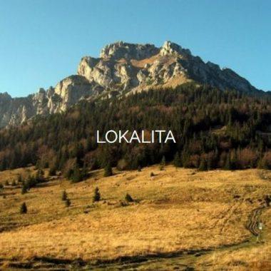 Lokalita - Terchová a okolie